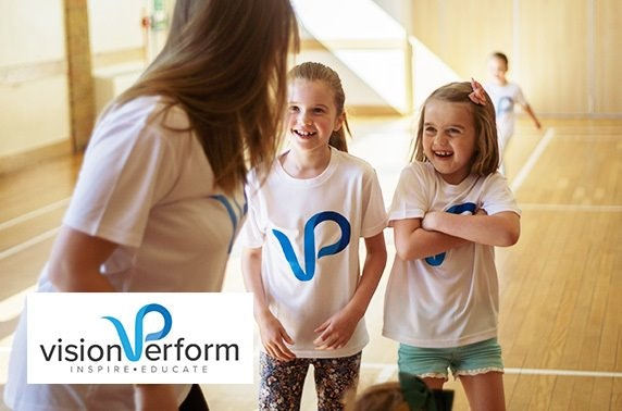 3 day school holiday performing arts workshop with Vision Perform