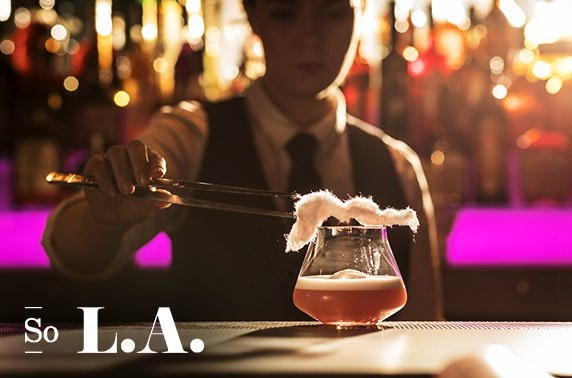 So L.A. 5 course dining experience