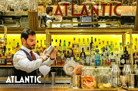 Atlantic Brasserie dining & cocktails, City Centre