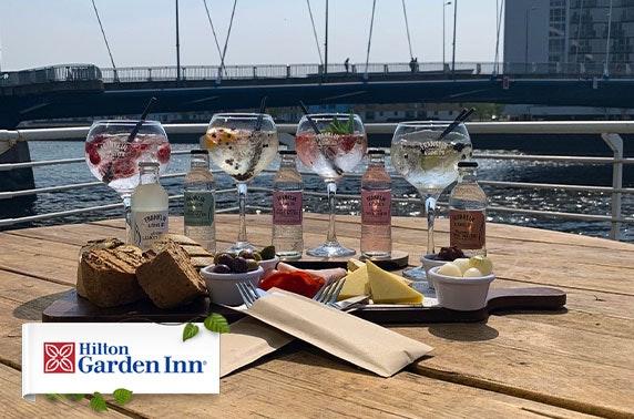 Hilton Garden Inn dining & gin, Finnieston Quay
