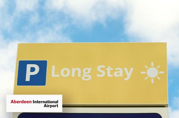Aberdeen Airport parking from £3pd
