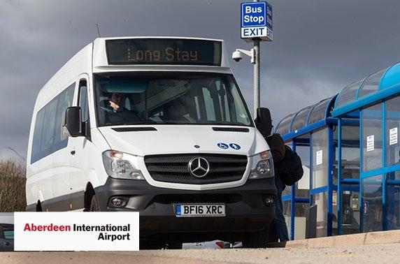 Aberdeen Airport parking from £3pd