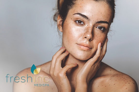 Fresh inc. medispa Skin Bar dermaplaning or luxury facial, St Andrews