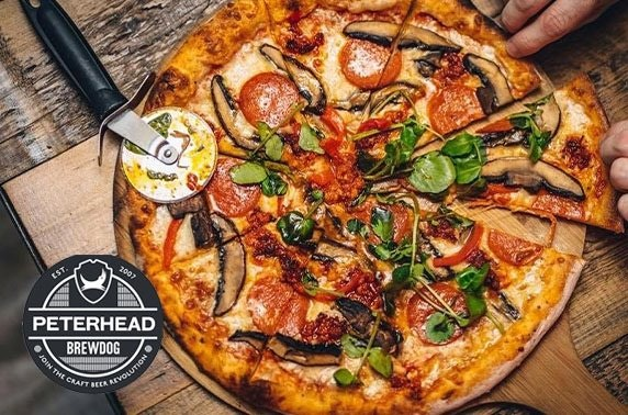BrewDog Peterhead pizzas - from £5pp