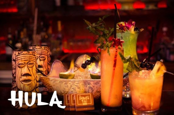 Hula cocktails, Northern Quarter