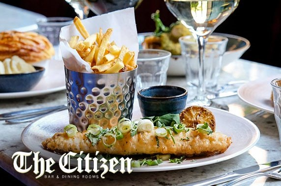 The Citizen dining, City Centre