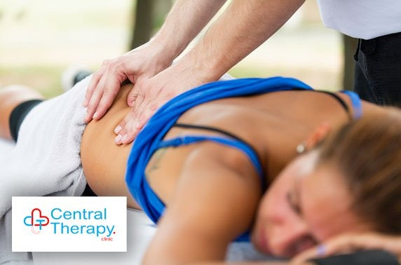 Massage or acupuncture, City Centre - from £12