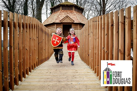 Fort Douglas entry, Dalkeith Country Park - from £2.50pp