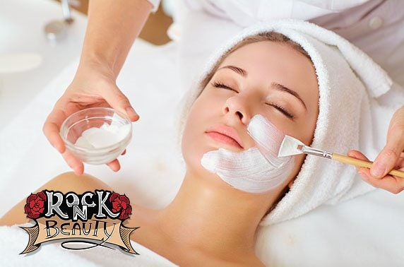 Rock 'N' Beauty massage and/or facial, Perth