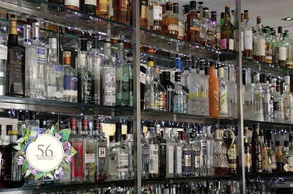 56 North's Scottish Gin Garden drinks & nibbles