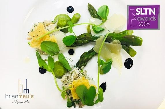 Award-winning Brian Maule at Chardon d'Or fine dining