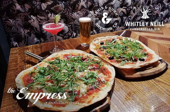 The Empress of Broughton Street dining & drinks