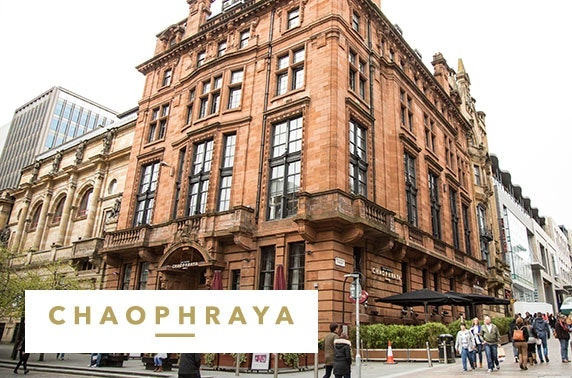 Chaophraya Glasgow brand new afternoon tea