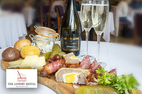 5* The Lowry Hotel Prosecco & sharing board
