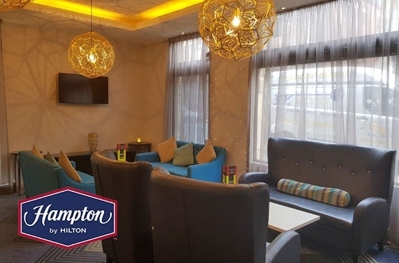 Hampton by Hilton drinks & nibbles