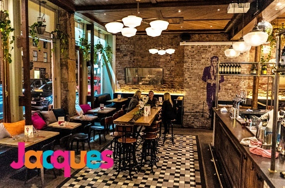 Jacques dining, Finnieston - from £6pp