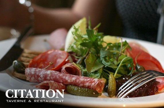 Citation antipasti & drinks