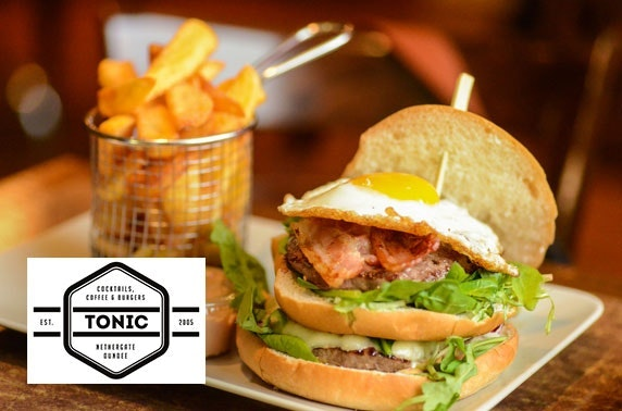 Tonic burgers & cocktails