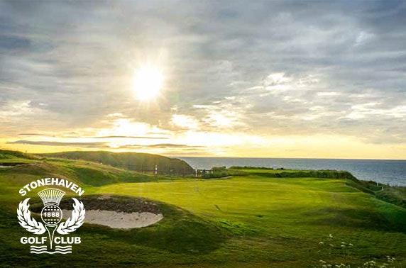 Stonehaven Golf Club round