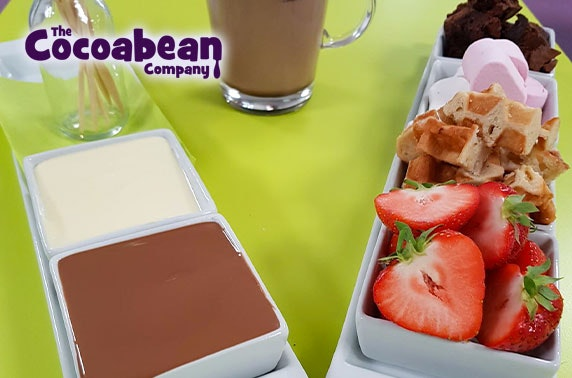 Cocoabean Braehead chocolate fondue or workshop