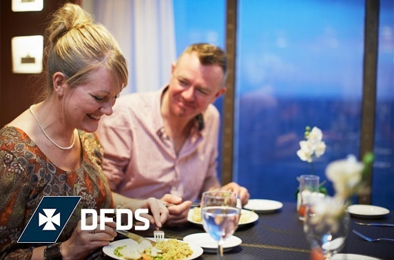 Amsterdam festive mini cruise with DFDS
