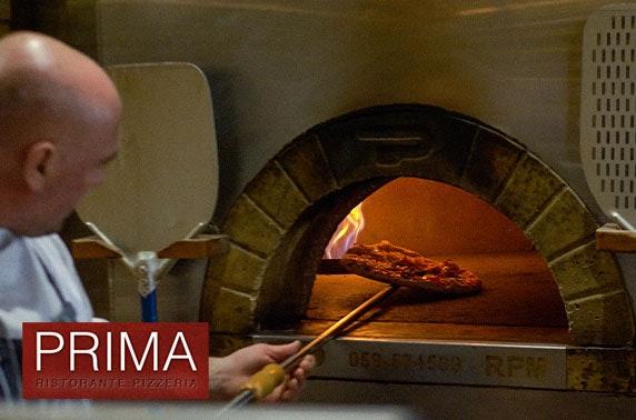 Prima pizza or pasta, Quayside - £6pp