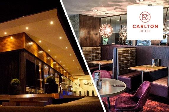 Carlton Hotel DBB - £89