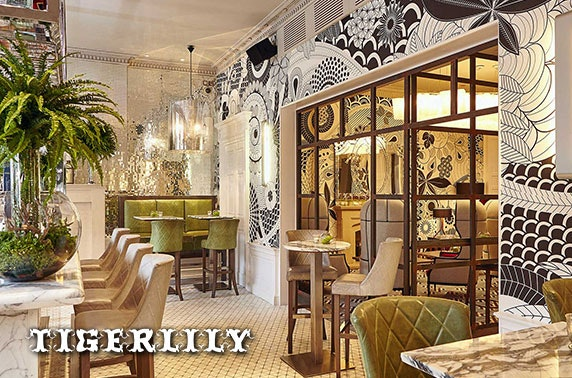 4* Tigerlily afternoon tea & cocktails