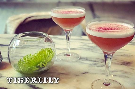 4* Tigerlily afternoon tea & cocktails