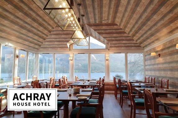 Sunday roast & optional stay at award-winning Achray House Hotel