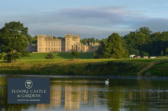 5* Floors Castle visit with optional afternoon tea