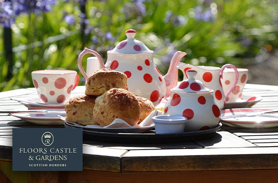 5* Floors Castle visit with optional afternoon tea
