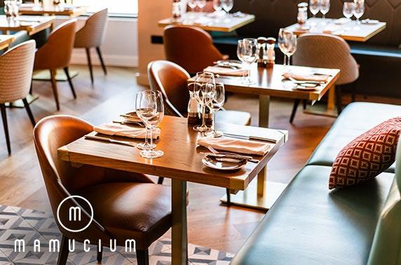 Mamucium festive afternoon tea, Hotel Indigo