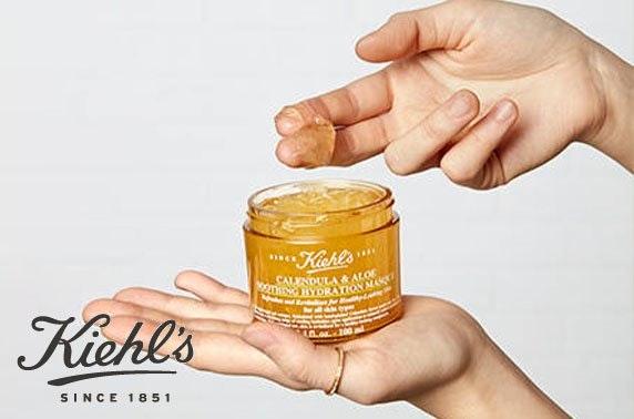 Kiehl's skin consultation, goody bag & Prosecco - £5