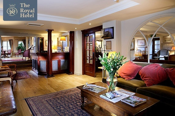 The Royal Hotel stay, Comrie