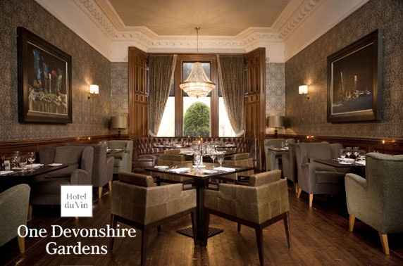 Champagne lunch at One Devonshire Gardens by Hotel Du Vin