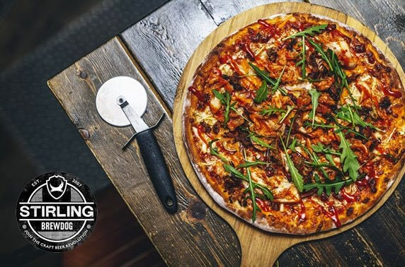 BrewDog Stirling pizzas & drinks