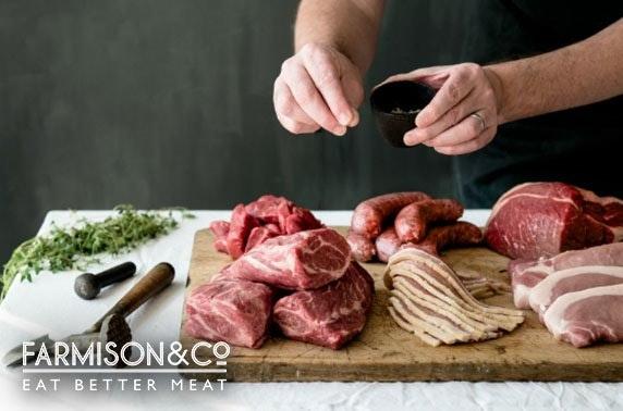 Award-winning Farmison & Co meat subscription box
