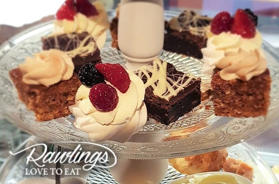 Award-winning Rawlings afternoon tea & optional Prosecco