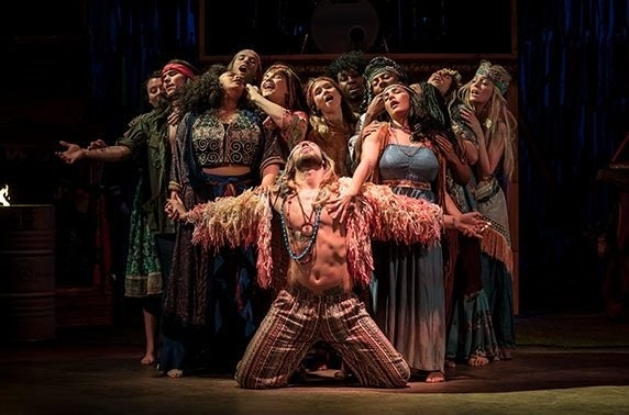 Hair the Musical at the King's Theatre