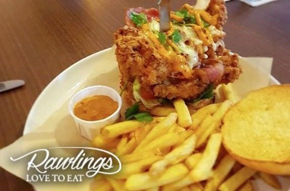 Award-winning Rawlings brunch or dinner, Southside