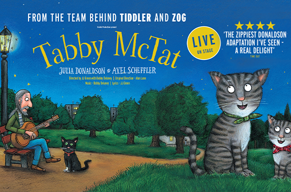 Tabby McTat at the Theatre Royal