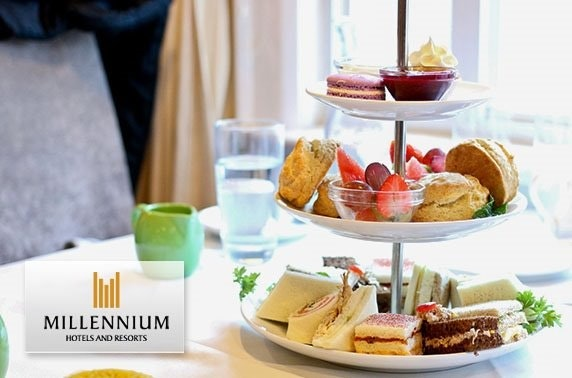 Millennium Hotel afternoon tea, George Square