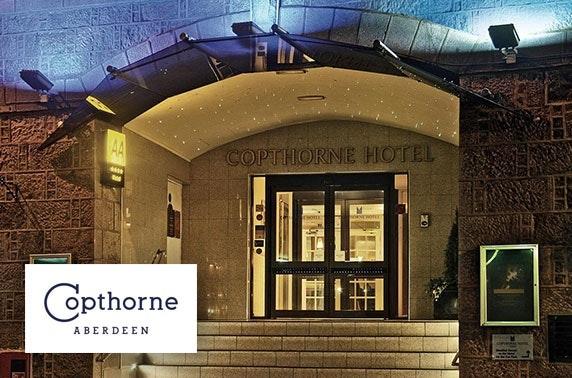 4* Copthorne Hotel afternoon tea