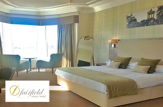 4* Fairfield House Hotel DBB; valid until Spring 2021!
