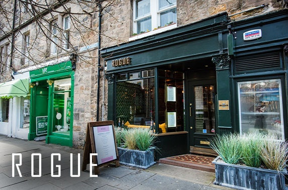 Brunch & optional Prosecco at Rogue, St Andrews