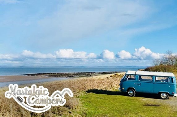 Vintage VW campervan hire