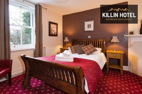 Killin Hotel stay, Perthshire