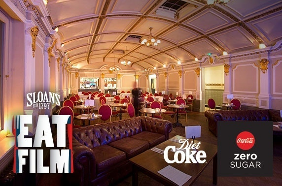 Sloans dinner & movie - £5pp