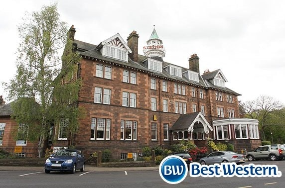 Dumfries stay at the Best Western Station Hotel
